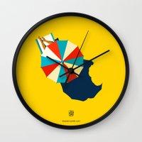 Suumer's gone Wall Clock