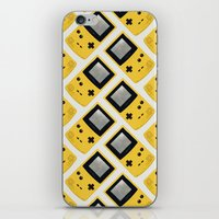 Gameboy Color: Yellow (Pattern) iPhone & iPod Skin