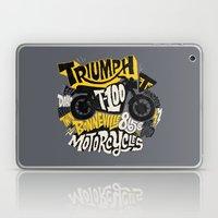 Triumph Laptop & iPad Skin