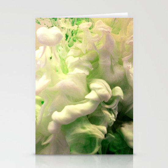 Green envy Stationery Card