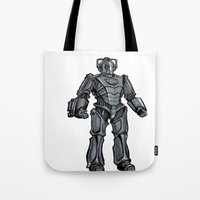 Cyberman... Tote Bag