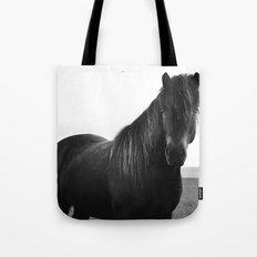 Icelandic horse Tote Bag