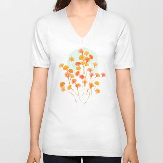The bloom lasts forever V-neck T-shirt