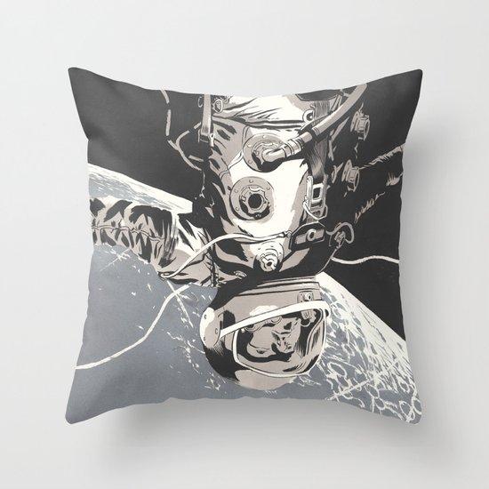 Gravity Throw Pillow