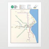Milwaukee Transit System… Art Print