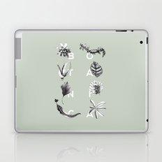 Botanica Letters   Pale Green Laptop & iPad Skin
