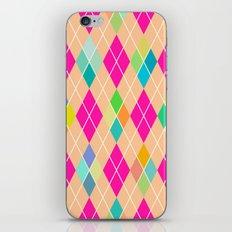 Colorful Geometric V iPhone & iPod Skin