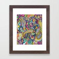 Laissez Les Bons Temps R… Framed Art Print