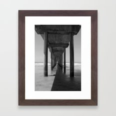Rising Water: A Perspective on Climate Change Framed Art Print