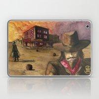 Sunset Showdown Laptop & iPad Skin