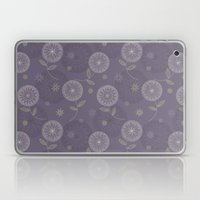 Folky Lace Flowers Laptop & iPad Skin