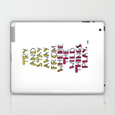 wild things - san cisco Laptop & iPad Skin