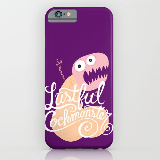 Lustful Cockmonster iPhone & iPod Case