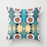 Scuba Squad Throw Pillow