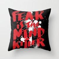 mind killer Throw Pillow
