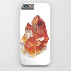 Orange Quartz Cluster Slim Case iPhone 6s