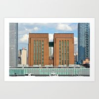 New York Ventilation Art Print