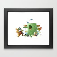 Moving Framed Art Print