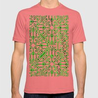 Landscape Of My Heart (s… Mens Fitted Tee Pomegranate SMALL