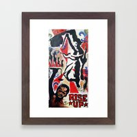 Rise Up Framed Art Print