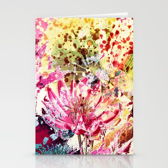 waterlily Stationery Card