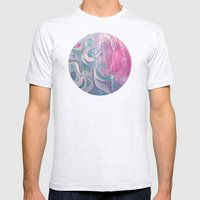 Electric Dreams Mens Fitted Tee Ash Grey SMALL