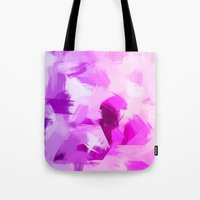 BLOSSOMS - VIOLET Tote Bag