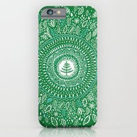 Christmas Tree Mandala iPhone 6 Slim Case