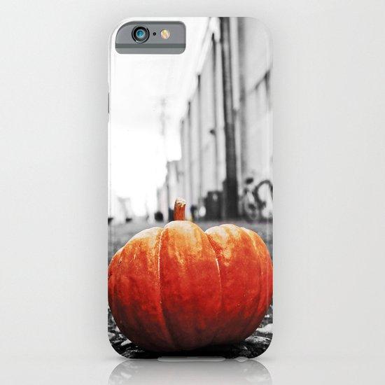 Gritty City pumpkin iPhone & iPod Case