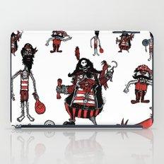 Everyone loves a pirate. Inspired by Captain Pugwash iPad Case