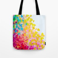 CREATION IN COLOR - Vibr… Tote Bag