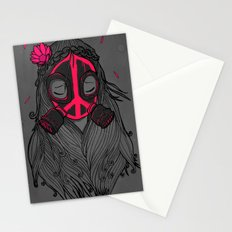 War and Peace (GREY) Stationery Cards