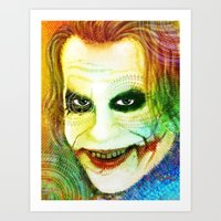 Joker New Art Print