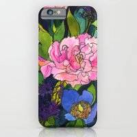 French Lavender & Roses iPhone 6 Slim Case