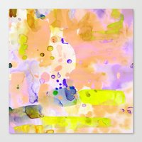Flamingo Neon Canvas Print
