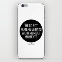 Remember Moments iPhone & iPod Skin