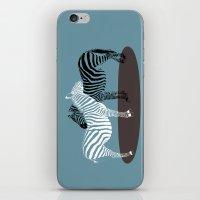 Zebra Embrace iPhone & iPod Skin