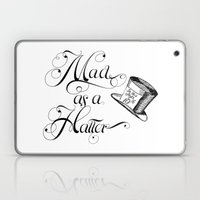 Alice In Wonderland Mad … Laptop & iPad Skin