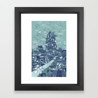 The Deep Framed Art Print