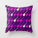 Electric Guitars #2 Throw Pillow