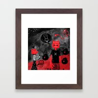 Day Off Framed Art Print