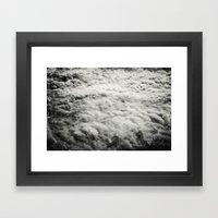 Somewhere Over The Cloud… Framed Art Print