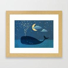 Star-maker Framed Art Print