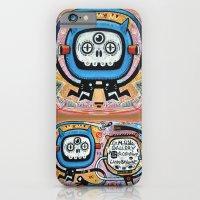 iPhone & iPod Case featuring Les mots du chaman by Exit Man