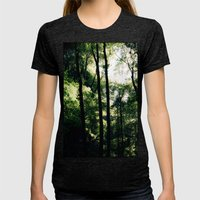 Inside the Cave Womens Fitted Tee Tri-Black SMALL