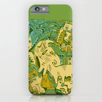iPhone & iPod Case featuring Green Town by Hanna Ruusulampi
