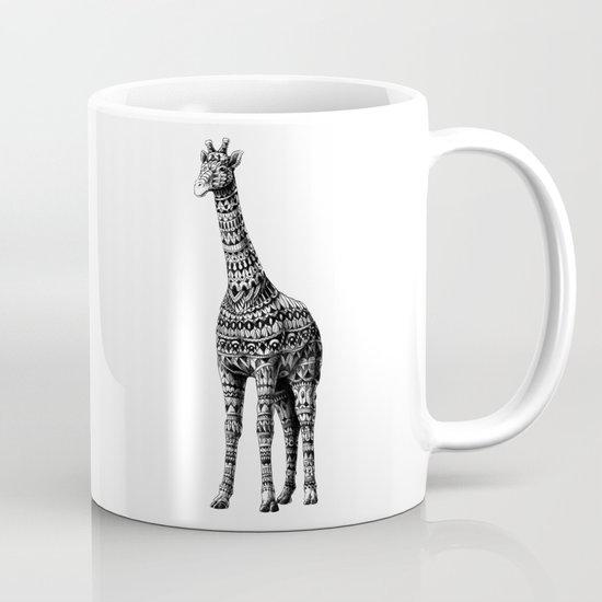 Ornate Giraffe Mug