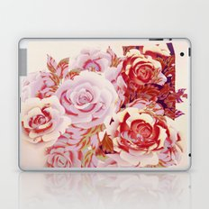 composition florale en rose Laptop & iPad Skin