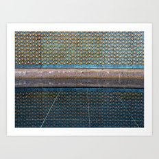 Star Wall and Reflection Art Print