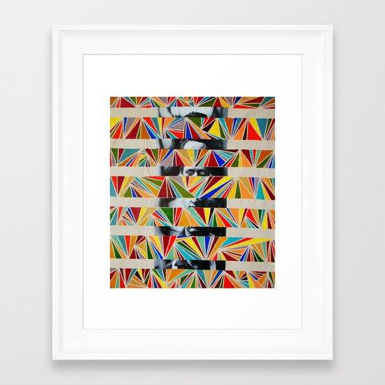 disorder  Framed Art Print